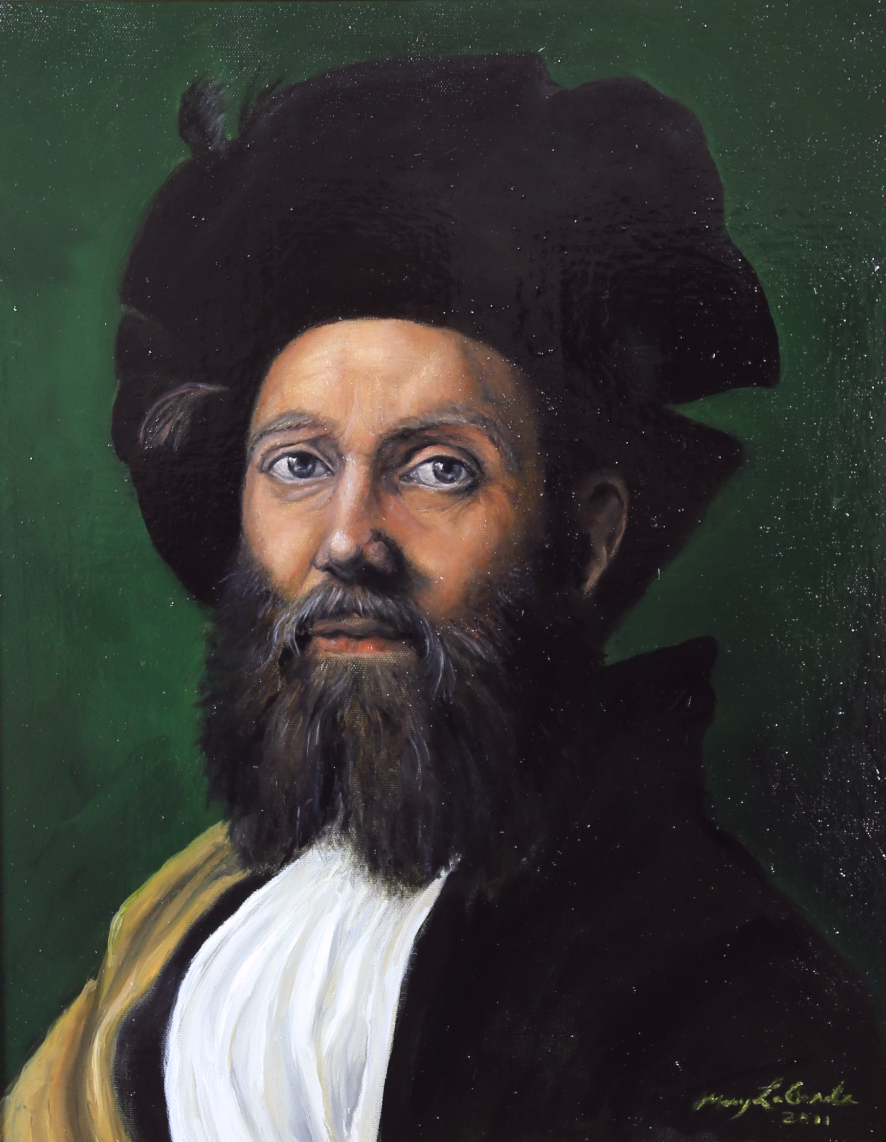Study of Raphael's Portrait of Baldassare Castiglione by Mary Ellis LaGarde
