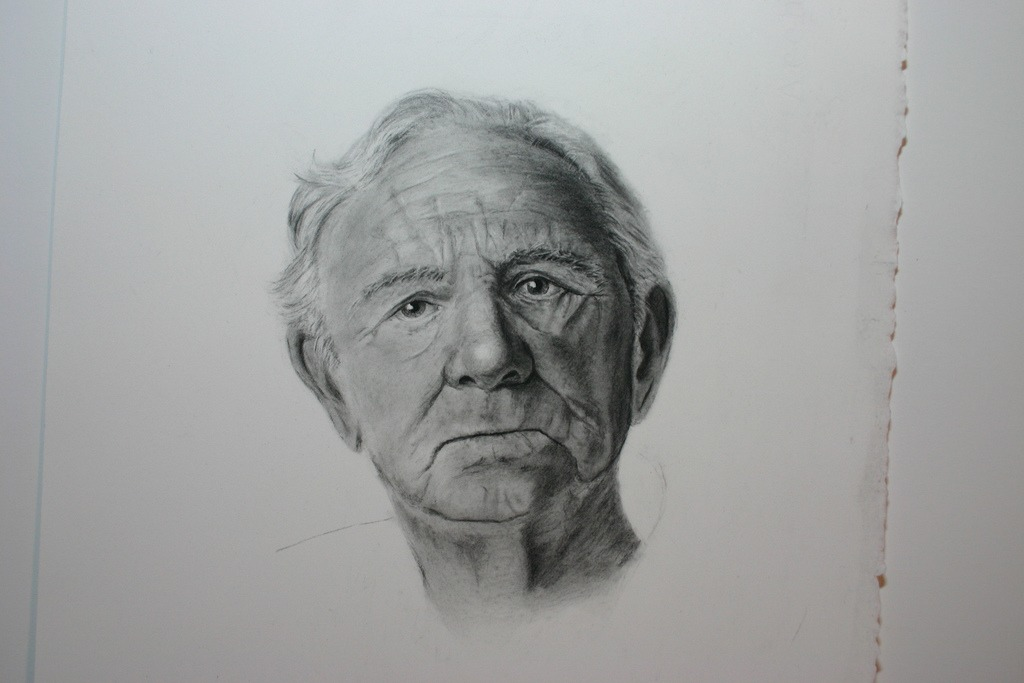 Study of an Older Man by Mary Ellis LaGarde