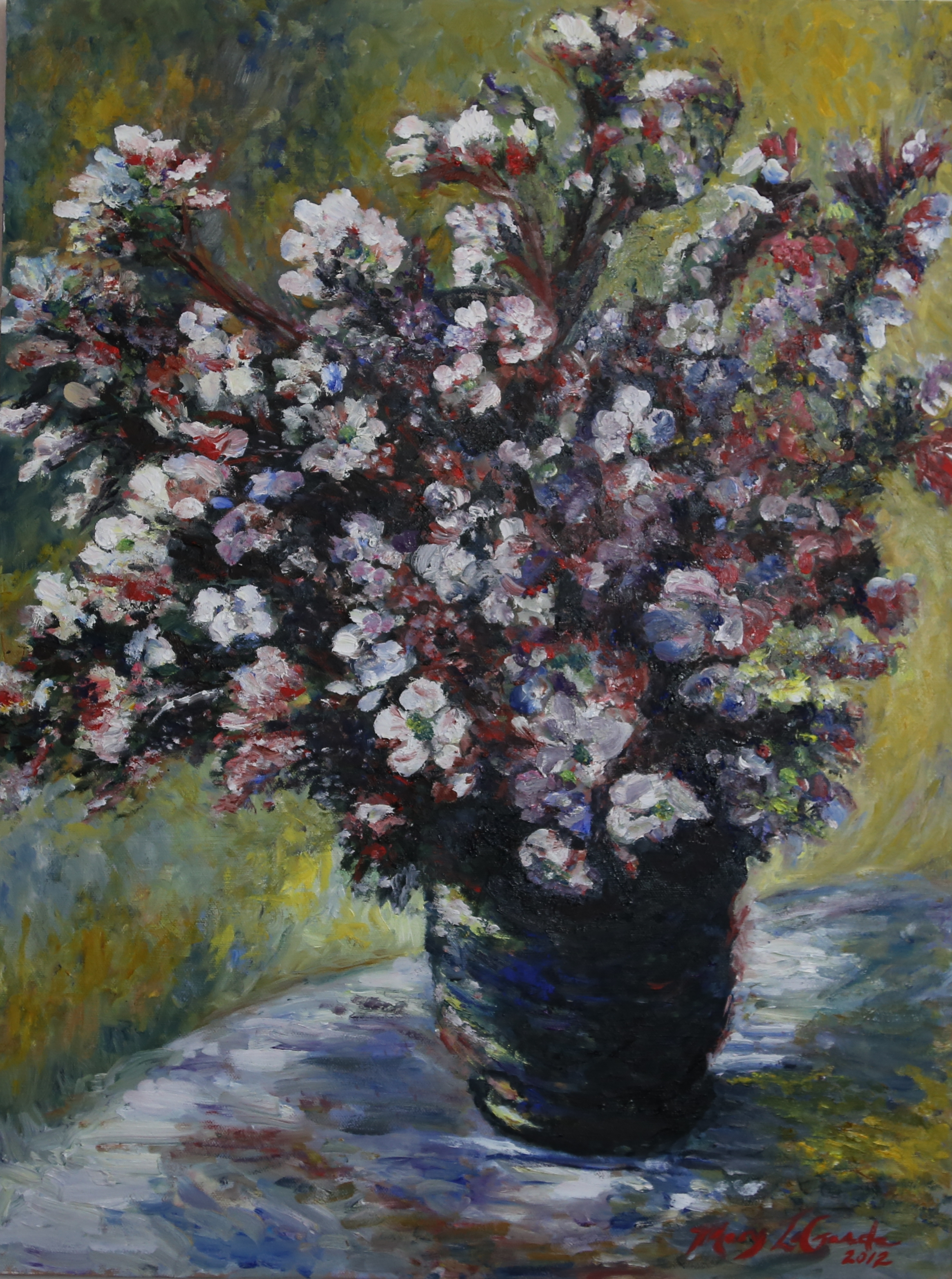 Study Of Monet S Quot Bouquet Of Mallows Quot Mary Lagarde
