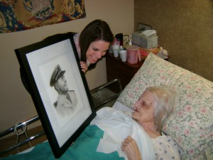 """Mary Ellis LaGarde with her """"Meemaw"""" Florence Nichols"""