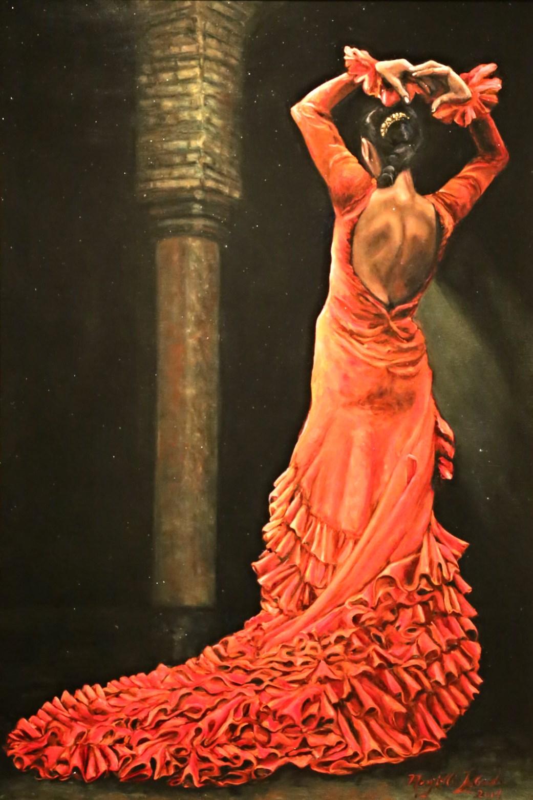 flamenco dancer in seville mary ellis lagarde mary ellis lagarde